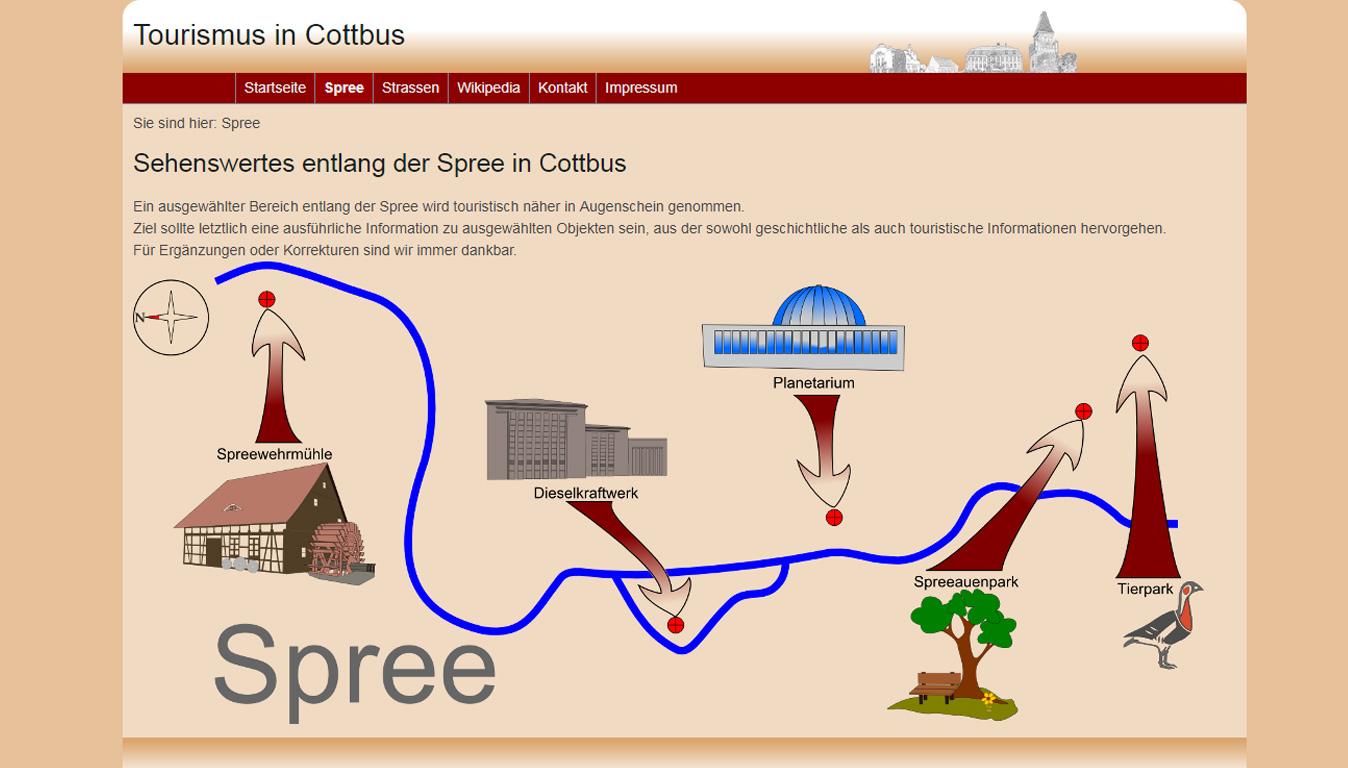 Projekte zum Thema Tourismus in Cottbus